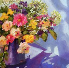 """Big Shadow"" original fine art by Libby Anderson"