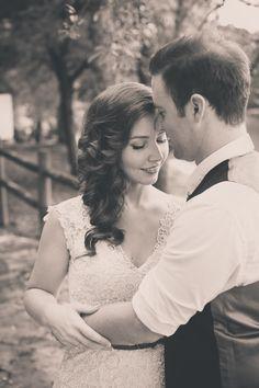 bride + groom (vintage look..)
