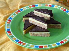 No Bake Pudding Bars A wonderful no bake recipe with peanut butter, chocolate and vanilla pudding.