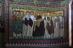 Emperor Justinian Mosaic, San Vitale, Ravenna, c. Medieval World, Medieval Art, Ap Art History 250, Fall Of Constantinople, Ottonian, Romanesque Art, Byzantine Architecture, Roman Gods, Carolingian