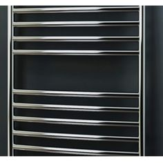 Stunning polished stainless steel heated towel rail fits perfect for any luxury bathroom suite