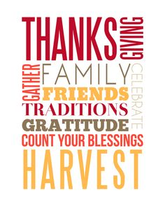 print and frame for Thanksgiving decor