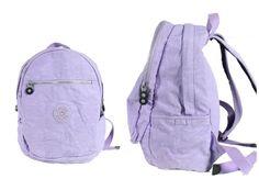KIPLING Challenger II BACKPACK LAPTOP PROTECTION PURPLE/LALAC/LAVENDER BOOKBAG #Kipling #Backpack