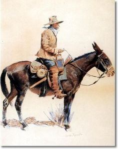 Among the many artists capturing the West on display at Montage Deer Valley are several pieces by the renowned Frederic Remington