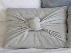 Easiest DIY pillow covers ever