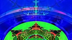 """Bible Fractal of the throne of God above the rainbow, and above all the mighty angels. """"The Lord sits enthroned upon the flood"""". (Psalm 29)"""