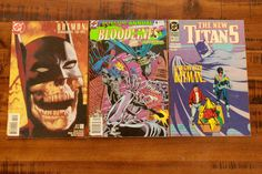 Shadow of the Bat #69/ Bloodlines, Earthplague #6/ The New Titans #65/ DC Comics