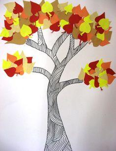 ZŠ Čakovice - výtvarná výchova - Fotoalbum - Ukázky prací - šestý ročník - Podzimní stromy - IMG_0494 Art Icon, Tigger, Disney Characters, School, Sd, Techno, Crafts, Porcelain Ceramics, Visual Arts