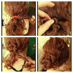 How To Hair - DIY Hair Resource From How To Hair Girl | 4 lovely up-dos for curly hair