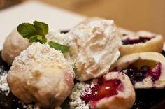 Czech fruit dumplings recipe