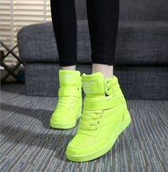 Ankle boots women casual shoes height increased wedges
