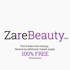 """Link in the bio zarebeauty.com 