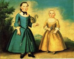 i do love a colonial portrait. and pet squirrels.