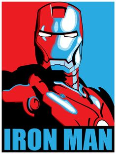 Iron Man Stretched Canvas