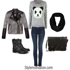 Comfortable Outfit Idea for Winter 2015