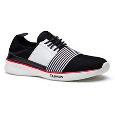 Stylish Striped and Hit Color Design Men's Casual Shoes #>=#>=#>=#>=#> Click on the pin to check out discount price, color, size, shipping, etc. Save and like it!