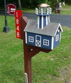 tips for choosing the attractive lighthouse mailboxes for your home mailbox designsmailbox ideasmailbox