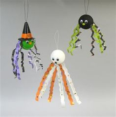 Halloween craft for kids....put candy inside of balloons for kids to pop.