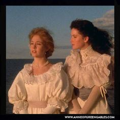 """You know something Diana? We are rich. We have sixteen years to our credit and we both have wonderful imaginations. We should be as happy as queens. Look at that you couldn't enjoy its loveliness anymore if you had ropes of diamonds."" – Anne Shirley (Anne of Green Gables Pt 2)"