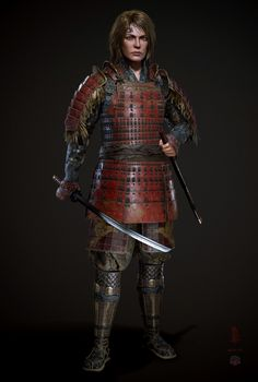 Texture by Substance Painter.Realtime Render in 3d Character, Fantasy Creatures, Female, Artwork, Digital, Inspiration, Warriors, Biblical Inspiration, Work Of Art