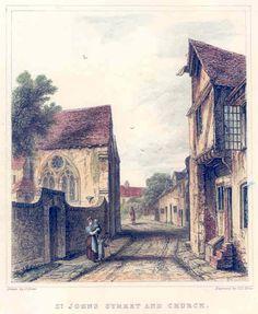 St John Street, Winchester, Hampshire