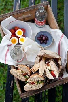 Half Sandwich | Picnic Ideas | Outdoor Food | Al Fresco Dining