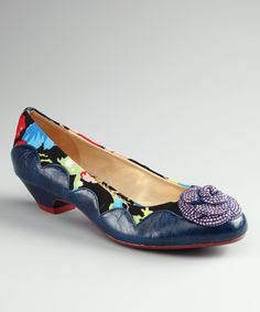 Take a look at this Marine Cherry Blossom Shoe on zulily today!