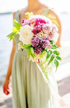 Wedding Bouquet of the Week - Mon Cheri Bridals