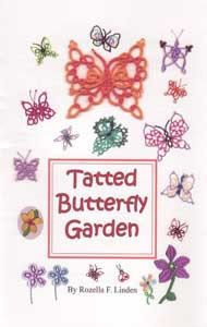 tatted butterfly garden - Google Search