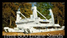 Trent 800 Engine Stands TRENT 800 engine stands available for sale or lease by Airline Support Group Inc. To configure TRENT 800 engine and access its parts quickly and safely.