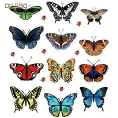 0.17$  Buy here - Mosunx Business (1 set = 12 pcs)Free shipping A beautiful art design 3d Butterfly  Wall Sticker Home Decoration Adesivo Parede   #buyininternet