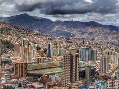Estadio #HernandoSiles #LaPaz #Bolivia