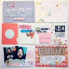 february SC kit // Project Life Week 7 | cardstockoption