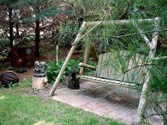 Jeanne's secret garden in the pines (6)