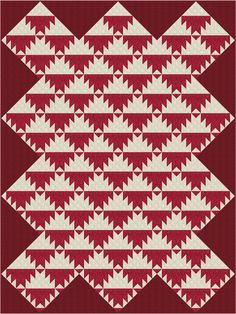 Go Scrappy or Choose Just 2 Fabrics to Make a Delectable Mountains Quilt: Make a Delectable Mountains Quilt