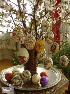 تخم مرغ برای سفره ی هفت سین