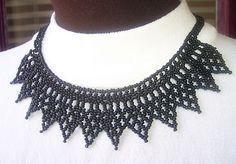 Bib necklace idea sim to my blue one for wedding