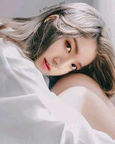 Bts Girl, Bts Chibi, Bts And Exo, Foto Bts, Bts Taehyung, Photomontage, Ulzzang Girl, Taekook, Pink Hair