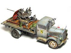 Armorama Model of the year 2012 Opel Blitz truck model