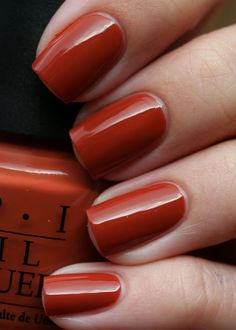OPI - Ginger Bells I never have red nail polish IBM but this is so pretty