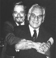 Sondheim and another longtime collaborator, James Lapine.