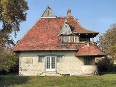 Villa of János Vaszary, Tata, Hungary. Architect: Ede Wigand Torockai.