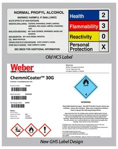 Best GHS Chemical Labeling Images On Pinterest Label Templates - Ghs label template