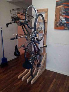 Space Saving Bike Storage