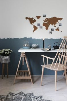 Huisjeaandehaven, blog, myhome, livingroom, scandinavian, brickwall, industrial, scandinavisch wonen, styling, wooninspiratie, werkkamer, workspace, flexanl, denim drift, workspaceinspo, hay, handed by
