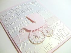 10 3D Handmade Baby Cards Congratulations Cards Baby by zuCards, $25.00