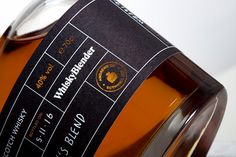 Whisky Blender - An Adventure In Branding — The Dieline - Branding & Packaging Design