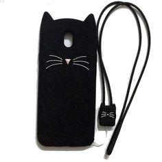 Case for samsung J3 J5 J7 Pro 2017 3d cat Design Soft silicon Phone bag Cover for Samsung J330 J530 J730 J3Pro J5Pro J7Pro