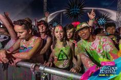 "Chandler Riggs and Brianna Maphis at ""Life in Color"" in Miami!"