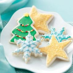 Favorite Sugar Cookies Recipe - Holidays